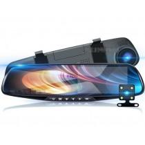 雙鏡頭高清夜視型行車紀錄器 1080P 4.3寸 170度廣角